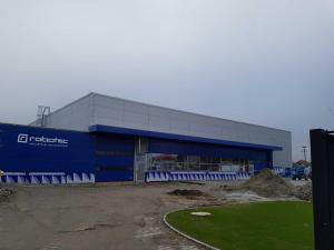 Výrobná hala firmy Robotec