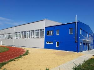 Telocvičňa pre Športové gymnázium v Trenčíne